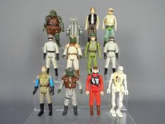 Kenner - A group of 12 x loose Return Of The Jedi 3.