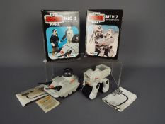 Star Wars - Two boxed Mini-Rigs comprising MTV-7 and MLC-3, both with instruction sheets,