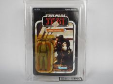 "Star Wars, Kenner - A graded Kenner 1983 Star Wars ROTJ 'Rebel Commando' 3 3/4""action figure."
