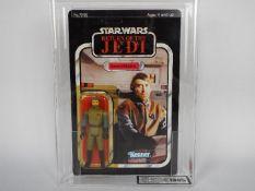 """Star Wars, Kenner - A graded Kenner 1983 Star Wars ROTJ 'General Madine' 3 3/4""""action figure."""