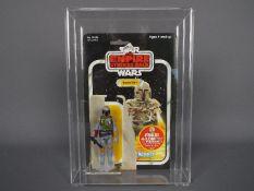 """Star Wars, Kenner - A vintage 1979 Kenner Star Wars TESB 'Boba Fett' 3 3/4"""" carded action figure."""