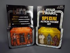 Star Wars, Kenner, Hasbro - Two boxed Star Wars Special Action Figure Sets.
