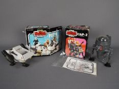 Star Wars - Two boxed Mini-Rigs to include CAP-2 and PDT-8 (CAP-2 with instruction sheet),