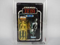 "Star Wars, Kenner - A graded Kenner 1983 Star Wars ROTJ '8D8' 3 3/4""action figure."