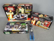 Hasbro - Toy Options - A group of 4 x boxed items including # C-246A Episode I Electronic