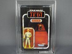 "Star Wars, Kenner - A graded Kenner 1983 Star Wars ROTJ 'Cloud Car Pilot' 3 3/4"" action figure."