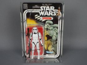 """Star Wars, Kenner - A rare boxed Star Wars 40th Anniversary 'Stormtrooper' 6"""" action figure."""