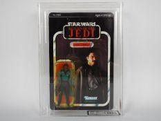 "Star Wars, Kenner - A graded Kenner 1983 Star Wars ROTJ 'Lando Calrissian' 3 3/4""action figure."