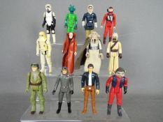 Star Wars, Kenner, Hasbro, LFL, CPG, GMFGI - A squad of 12 loose vintage Star Wars figures.