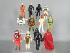 Star Wars, Kenner, Hasbro, LFL, CPG, GMFGI - A corp of 12 loose vintage Star Wars figures.