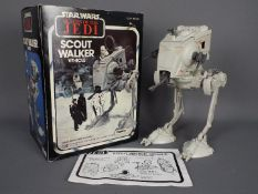Star Wars - A boxed Return Of The Jedi Scout Walker AT-ST, model appears in excellent condition,