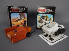 Star Wars - Two boxed Mini-Rigs comprising PDT-8 (with instructions sheet) and AST-5.