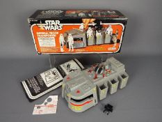 Star Wars - A boxed, vintage, Star Wars Imperial Troop Transporter with instruction sheet,