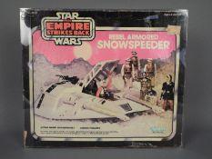 Star Wars, Kenner - A boxed vintage 1980 Kenner Star Wars TESB 'Rebel Armored Snowspeeder'.