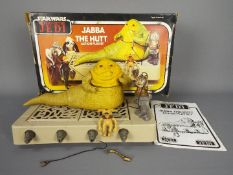 Star Wars - A boxed, vintage Return Of The Jedi Jabba The Hutt Action Playset by Kenner,