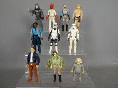 Star Wars, Kenner, Hasbro, LFL, CPG, GMFGI - A squad of 10 loose vintage Star Wars figures.