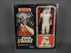 """Star Wars, Kenner - A boxed vintage Kenner 1977 Star Wars 'Stormtrooper' large 12"""" action figure."""