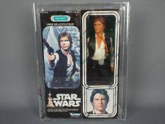 "Star Wars, Kenner - A graded Kenner 1978 Star Wars 'Han Solo' large 12"" action figure."