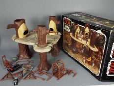 Star Wars - A boxed, vintage Return Of The Jedi Ewok Village action playset by Kenner / Palitoy,