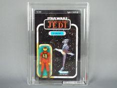 "Star Wars, Kenner - A graded Kenner 1983 Star Wars ROTJ 'B-Wing Pilot' 3 3/4"" action figure."
