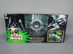 Star Wars, Hasbro - A boxed Hasbro 'Power of the Jedi' #32457 'TIE Interceptor'.