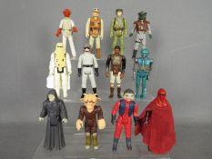 Star Wars, Kenner, Hasbro, LFL, CPG, GMFGI - A platoon of 12 loose vintage Star Wars figures.