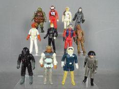 Star Wars, Kenner, Hasbro, LFL, CPG, GMFGI - A draught of 12 loose vintage Star Wars figures.