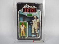 "Star Wars, Kenner - A graded Kenner 1983 Star Wars ROTJ 'Bossk (Bounty Hunter) 3 3/4""action figure."