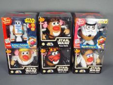 Hasbro - A collection of 6 x boxed Mr Potato Head figures including # 24175 Princess Tater,
