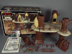 Star Wars, Kenner - A boxed vintage 1980 Star Wars ROTJ 'Ewok Village' by Kenner.