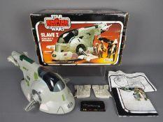 Star Wars - A boxed Kenner Slave I Boba Fett's Spaceship,