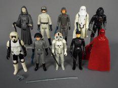 Star Wars - Ten unboxed action figures to include Emperor Palpatine ©LFL 1984,