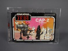 Star Wars, Palitoy - A vintage and graded 1983 Palitoy Star Wars ROTJ 'CAP-2 Captivator'.