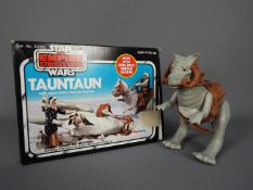 Star Wars - A boxed, vintage Empire Strikes Back Tauntaun with Open Belly Rescue Feature by Palitoy,