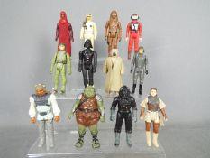 Star Wars, Kenner, Hasbro, LFL, CPG, GMFGI - A regiment of 12 loose vintage Star Wars figures.