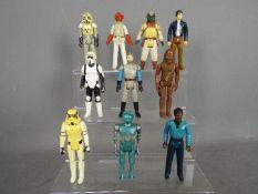 Star Wars, Kenner, Hasbro, LFL, CPG, GMFGI - A group of 12 loose vintage Star Wars figures.