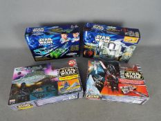 Hasbro - Ideal - A collection of 4 x boxed Micro Machines sets including # 66547 Podracer Launchers,