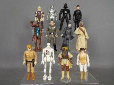 Star Wars, Kenner, Hasbro, LFL, CPG, GMFGI - A unit of 12 loose vintage Star Wars figures.