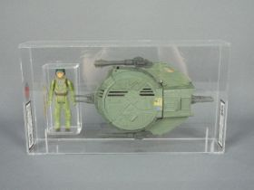 Star Wars, Kenner, LFL - A dual graded unboxed Star Wars action figure set.
