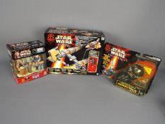 Star Wars, Hasbro - Three boxed Hasbro Star Wars toys / actions figures.