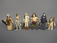 Star Wars - A collection of loose figures comprising Zuckuss (4-LOM) ©LFL 1981 Made In Hong Kong,