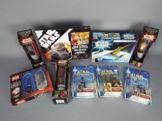 Hasbro - Hope - AMT - A group of 9 x boxed / carded items including Episode I Darth Maul Collector