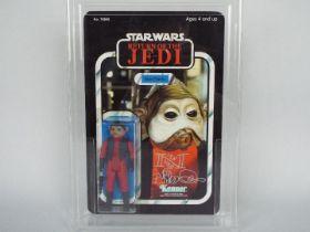 """Star Wars, Kenner - A vintage Kenner 1983 Star Wars ROTJ 'Nien Nunb' 3 3/4""""action figure."""