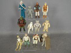 LFL - Star Wars - A collection of 12 x loose figures including Teebo - LFL Taiwan 1984,