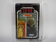 "Star Wars, Kenner - A graded Kenner 1983 Star Wars ROTJ 'Squid Head' 3 3/4""action figure."
