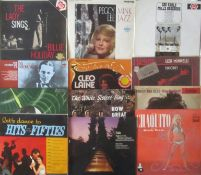 RECORDS - ALBUMS INCLUDING BILLIE HOLIDAY PEGGY LEE