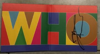 MUSIC - THE WHO CD HAND SIGNED BY PETE TOWNSEND