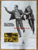 FILM - BUTCH CASSIDY ETLE KID FRENCH GRANDE POSTER 1970