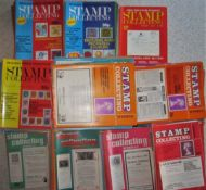 PHILATELY - STAMP COLLECTING WEEKLY 1975 - 1984. OVER 300 MAGAZINES