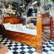 19th CENTURY FRENCH MAHOGANY DAY BED
